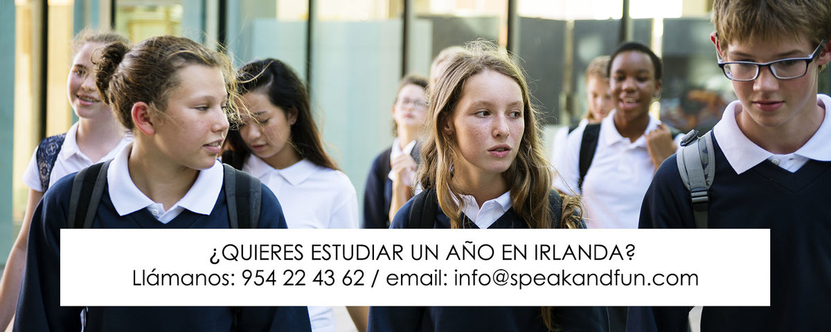 Speak and fun curso academico en Irlanda 4º ESO