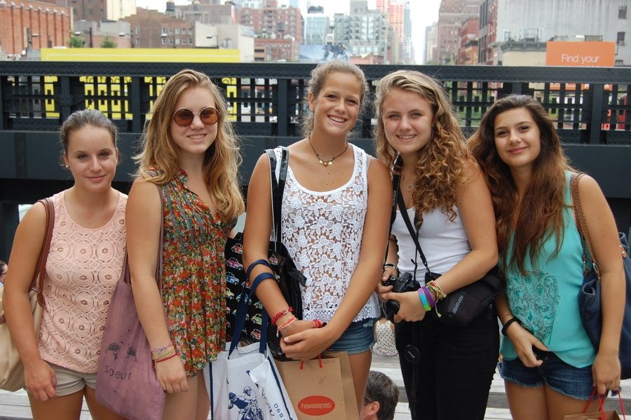 Alumnos del programa junior de BSL en Highline - Speak and Fun