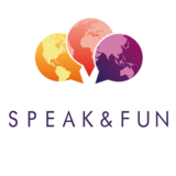 Speak & Fun en Bury (cercano a Cambridge) con vuelo y monitor